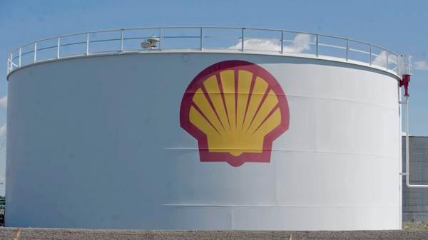 A Shell Oil drum is shown in Montreal, Friday, June 4, 2010. (Graham Hughes / THE CANADIAN PRESS)