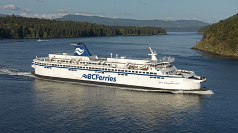 A BC Ferries vessel is seen in this file photo. Oct. 1, 2012. (CTV)