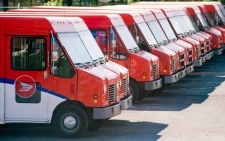 Canada Post vehicles