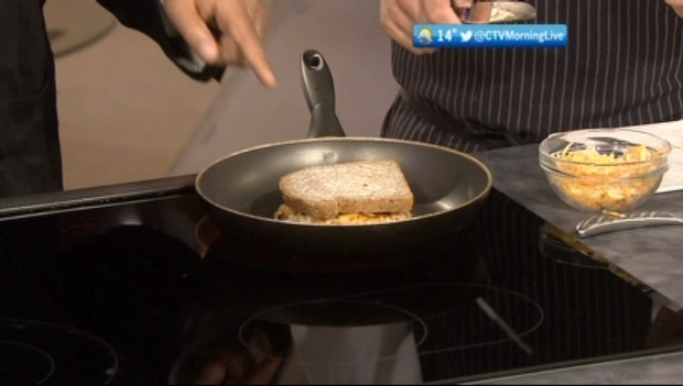 CTV British Columbia Morning Live: Chef Dale McKay cooks gourmet grilled cheese sandwiches