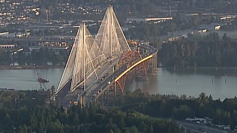 The new Port Mann Bridge will be fully operational in 2013. (CTV)