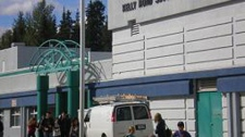 Students were quarantined at Kelly Road Secondary School in Prince George, B.C., after a botulism scare. Sept. 10, 2010. (handout)