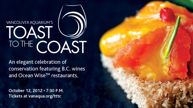 Vancouver Aquarium's Toast to the Coast