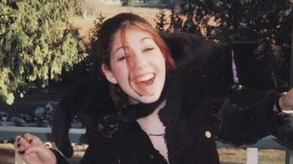 Chelsea Acorn was brutally murdered near Hope, B.C. in 2005. (CTV)