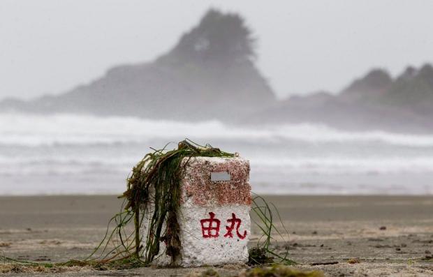 Tsunami debris