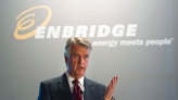 Enbridge Inc. President and CEO Patrick Daniel speaks at the company's annual general meeting in Toronto on Wednesday, May 9, 2012. (THE CANADIAN PRESS / Nathan Denette)