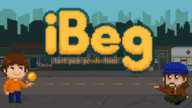 iBeg Vancouver homelessness video game virtual