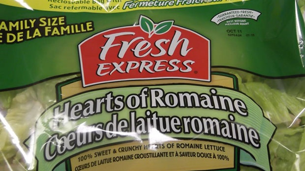 Hearts of Romaine Salad Packages RECALLED!
